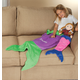Blankie Tailstm Kids Purple Mermaid Tail, One Size
