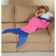 Blankie Tailstm Kids Pink Mermaid Tail, One Size