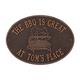 Personalized Grill Deck Plaque, One Size