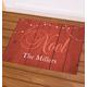 Personalized Barnwood Noel Doormat, One Size