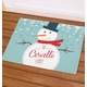 Personalized Welcome Snowman Doormat, One Size
