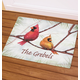 Personalized Snowbirds Doormat, One Size
