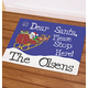 Personalized Dear Santa Doormat, One Size