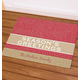 Personalized Season's Greetings Doormat, One Size