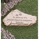 Personalized Faithful Friend And Companion Memorial Stone, One Size