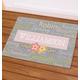 Personalized Spring Words Doormat 24