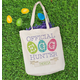 Personalized Egg Hunter Canvas Tote, One Size