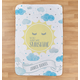 Personalized You Are My Sunshine Baby Sherpa Throw 30