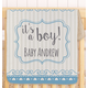 Personalized It's A Boy! Baby Sherpa Throw 30