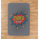 Personalized Super Hero Sherpa Throw 37