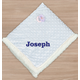 Personalized Blue Embroidered Baby Sherpa 30