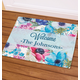 Personalized Floral Spring Doormat, One Size