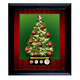 Personalized Family Framed Coin Christmas Tree, One Size