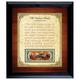 Personalized Established Family Declaration $2 Frame, One Size