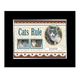 Cats Rule Personalized Photo Frame, One Size