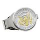 Monogrammed Presidential Half Dollar Silvertone Money Clip, One Size