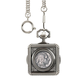 Monogrammed Buffalo Nickel Coin Pocket Watch, One Size