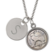 Irish Threepence Rabbit Coin Personalized Pendant Necklace, One Size