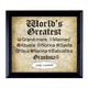 World's Greatest Grandma Frame, One Size