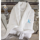 Personalized White Plush Robe, One Size