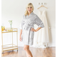 Personalized Luxury Satin Robe With Tie Strap, One Size