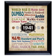 A Year In Time Celebration Wall Frame Collection, One Size
