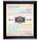 Personalized Baby Year In Time Celebration Frame Collection, One Size