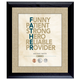 Personalized Father Frame, One Size