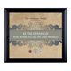 Be The Change Personalized Wall Frame, One Size