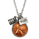 Year To Remember Children's Penny Wish Coin Necklace, One Size