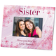 Personalized Flowers-A-Flutter Sister Frame Add A Name Or Initial For Free, One Size