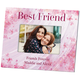 Personalized Flowers-A-Flutter Best Friend Frame Add A Name Or Initial For Free, One Size