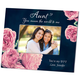 Personalized Aunt English Rose Frame Add A Name Or Initial For Free, One Size