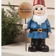 Garden Gnome Sign, One Size