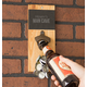 Personalized Slate & Acacia Wall Mount Bottle Opener, One Size