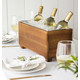 Personalized Wooden Wine Trough, One Size