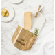 Personalized Marble & Acacia Serving Board, One Size