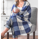 Personalized Buffalo Check Throw, One Size