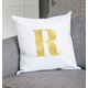 Personalized Gold Foil Initial 16