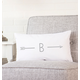 Personalized Lumbar Pillow, One Size