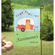 Personalized Happy Campers Garden Flag, One Size
