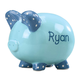 Personalized Kid's Font Piggy Bank, One Size