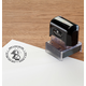 Personalized Snow Fun Stamper Black, One Size