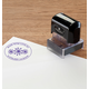 Personalized Made With Love Stamper Black, One Size