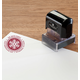 Personalized Snowflake Stamper Black, One Size
