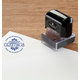 Personalized Season's Greetings Stamper Black, One Size