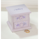 Personalized Children's Purple Musical Jewelry Box, One Size
