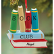 Personalized Book Club Ornament, One Size