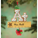 Personalized A+ Teacher Cookie Ornament, One Size