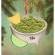 Personalized Guacamole Bowl Ornament, One Size